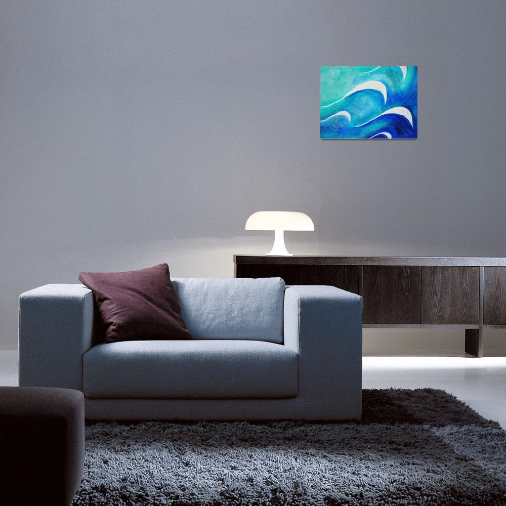 """OC Ocean Depths""  (2010) by BVRArtWorks"
