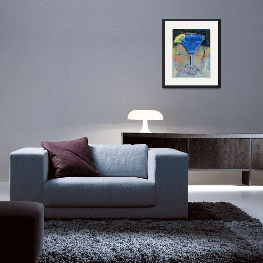 """""""Royal Blue Martini&quot  by creese"""