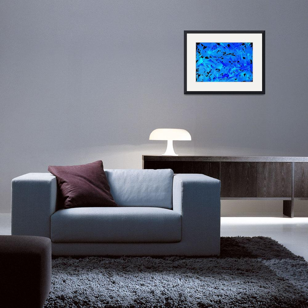 """""""Cool Blue""""  (2014) by Tronagallery"""