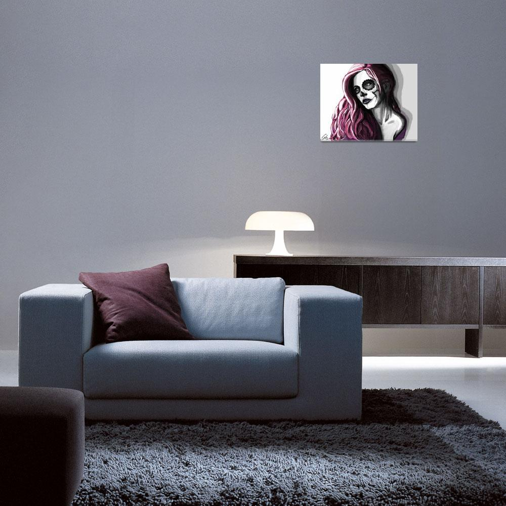 """Skull Candy Portrait""  (2013) by ColtonNicholas"