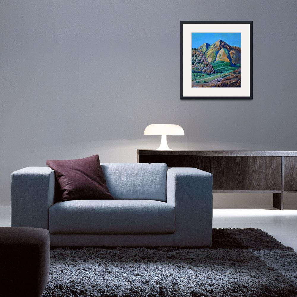 """""""Afternoon Delight California Landscape&quot  (2007) by RDRiccoboni"""