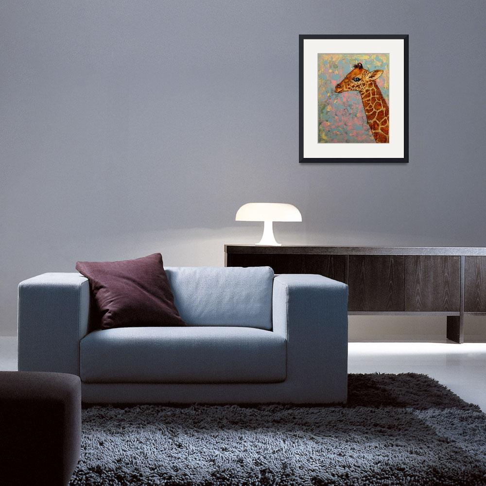 """""""Baby Giraffe&quot  by creese"""