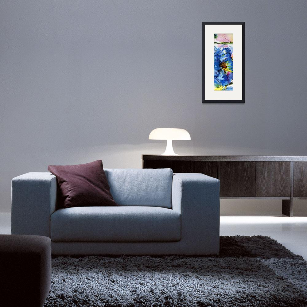 """""""Blue Poppy Tallskinni 1 by Ginette&quot  (2011) by GinetteCallaway"""