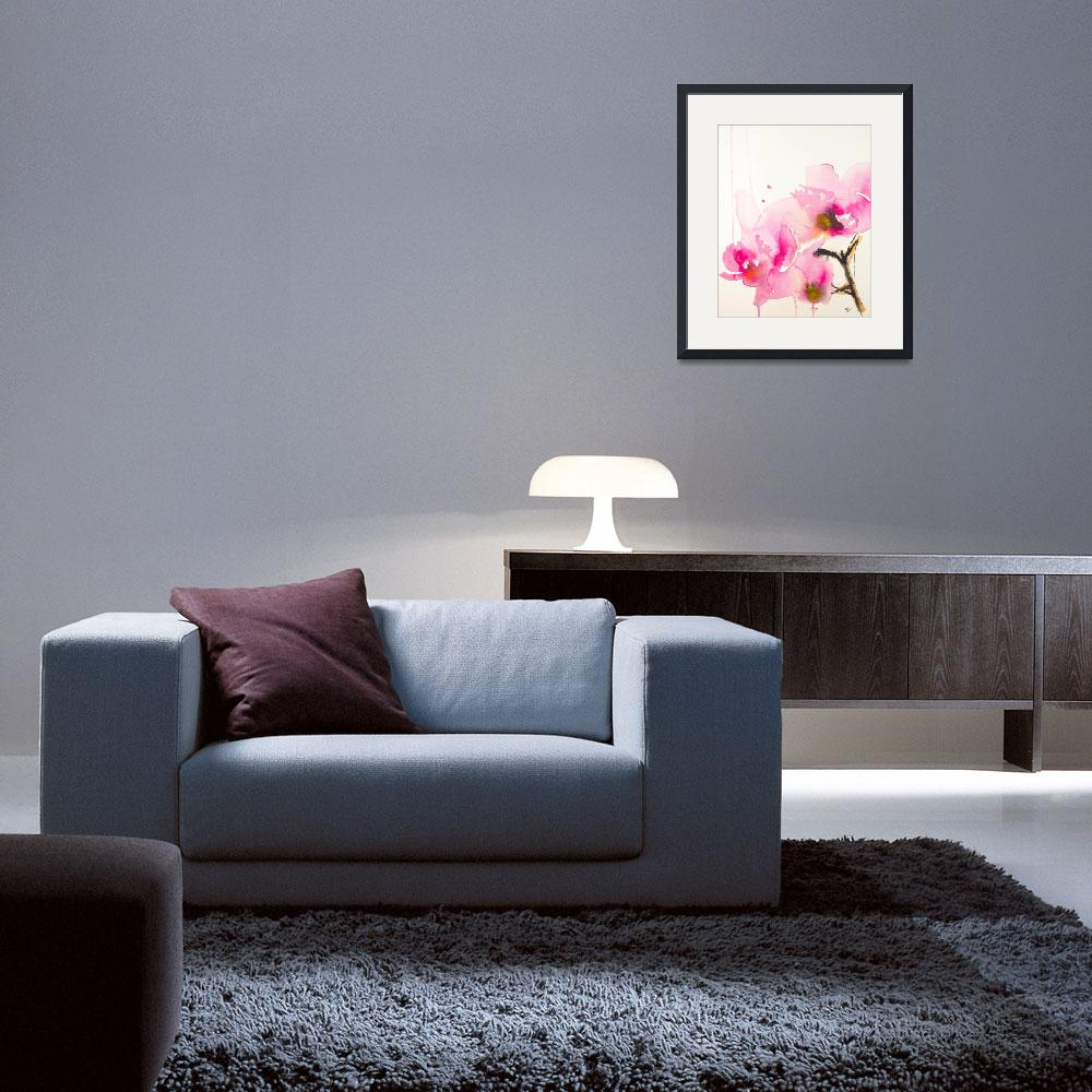 """""""Orchid study II&quot  (2013) by KarinJohannesson"""