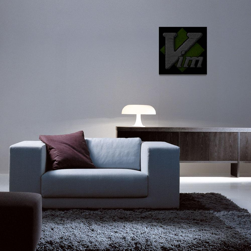 """""""Vim Poster&quot  (2010) by 0xfe"""
