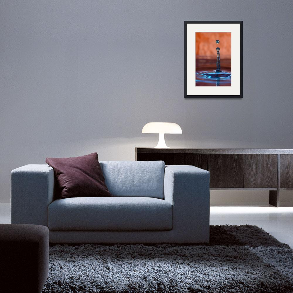 """Macro Water Drop&quot  (2011) by AndrewBathurst"