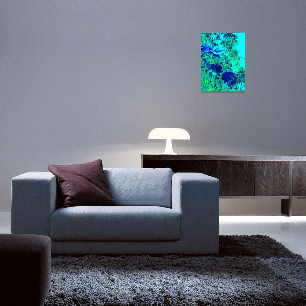 """""""Blue Green Experience""""  (2012) by AprilO"""