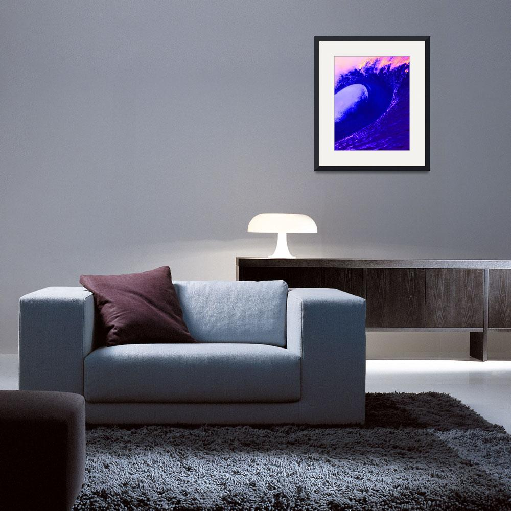 """""""Abstract Wave&quot  (2014) by Icarusismart"""