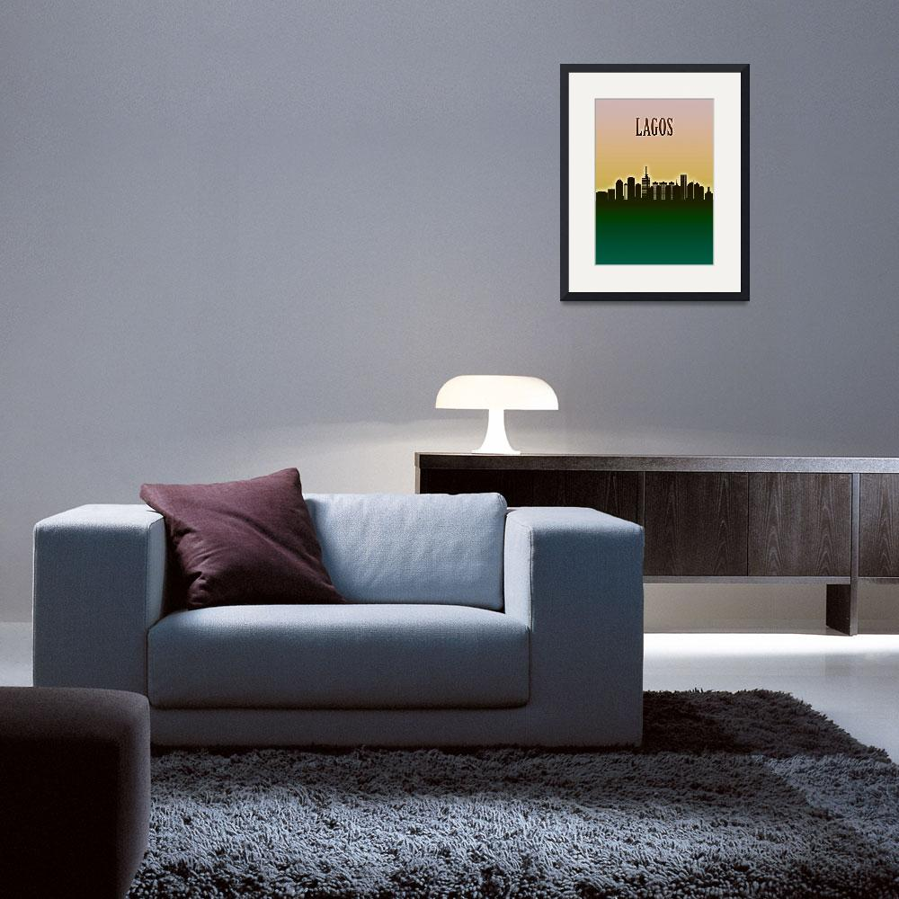 """""""Lagos Skyline""""  by Towseef"""