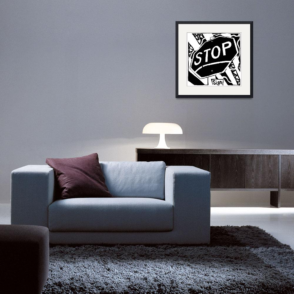 """""""s-is-for-stop-sign-maze&quot  by yfrimer"""