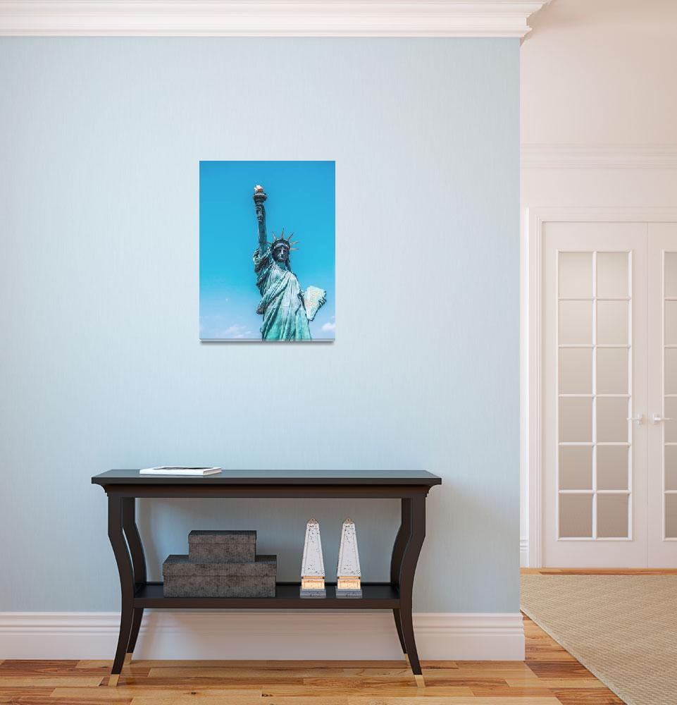 """""""The Statue of Liberty in New York City 2&quot  by motionage"""