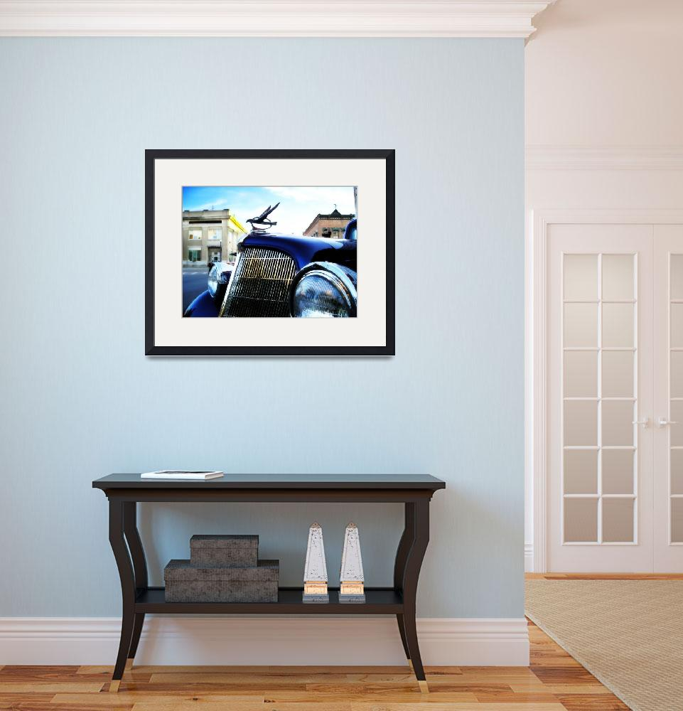 """""""old blue car&quot  (2007) by studiobrian"""