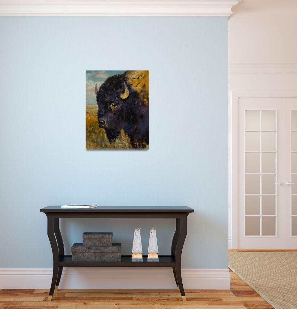 """""""Bison""""  by creese"""