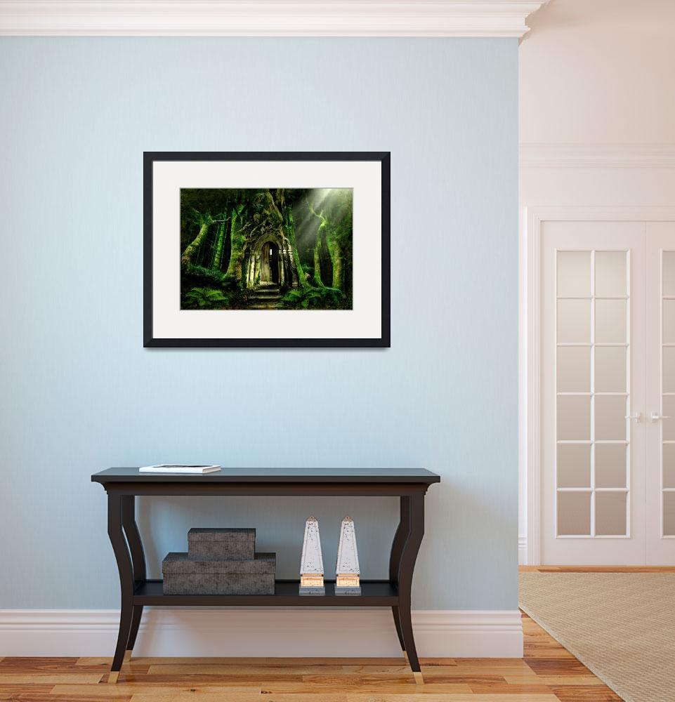 """""""The Emerald Forest&quot  (2008) by AngelaBarnett"""
