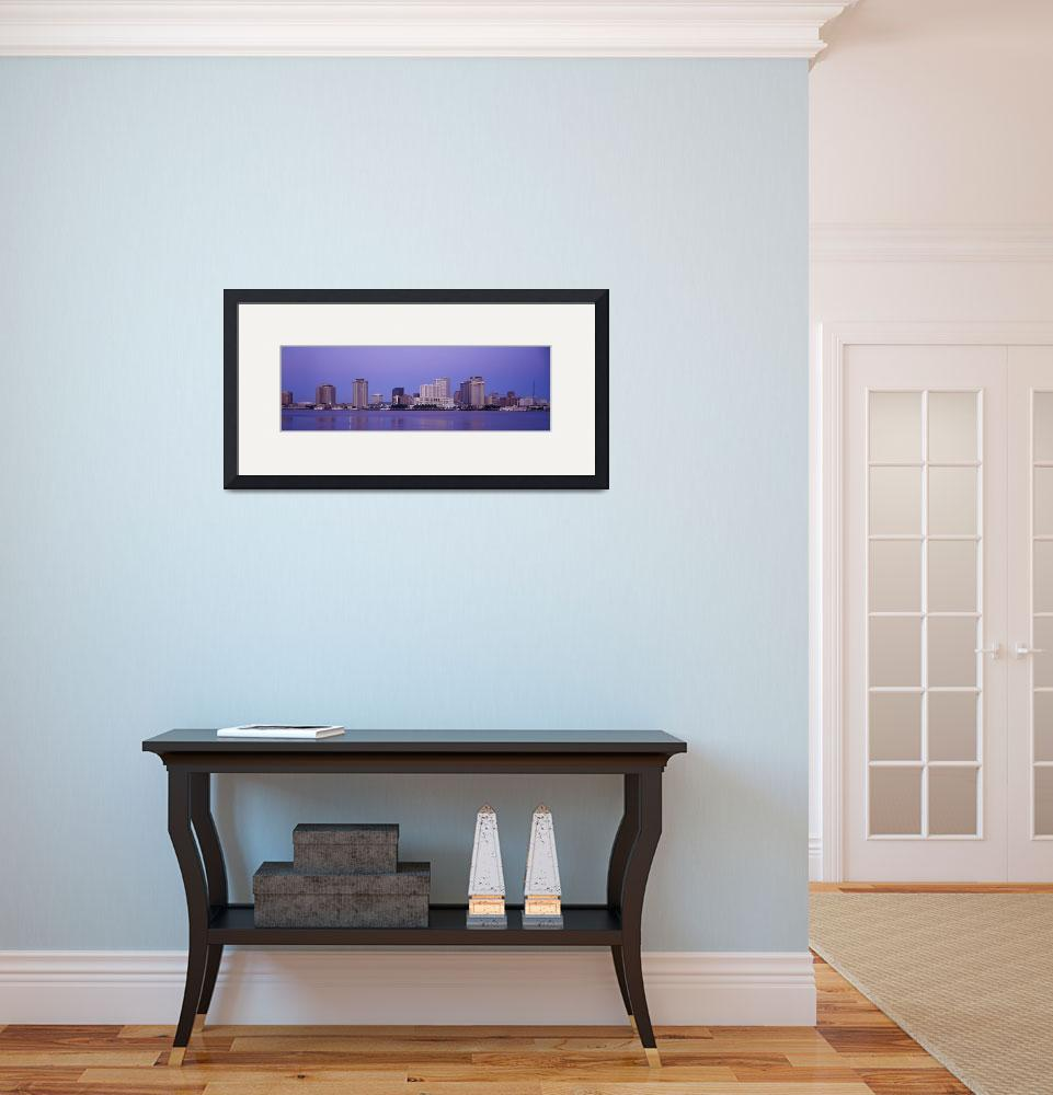 """""""Sunrise Skyline New Orleans LA&quot  by Panoramic_Images"""
