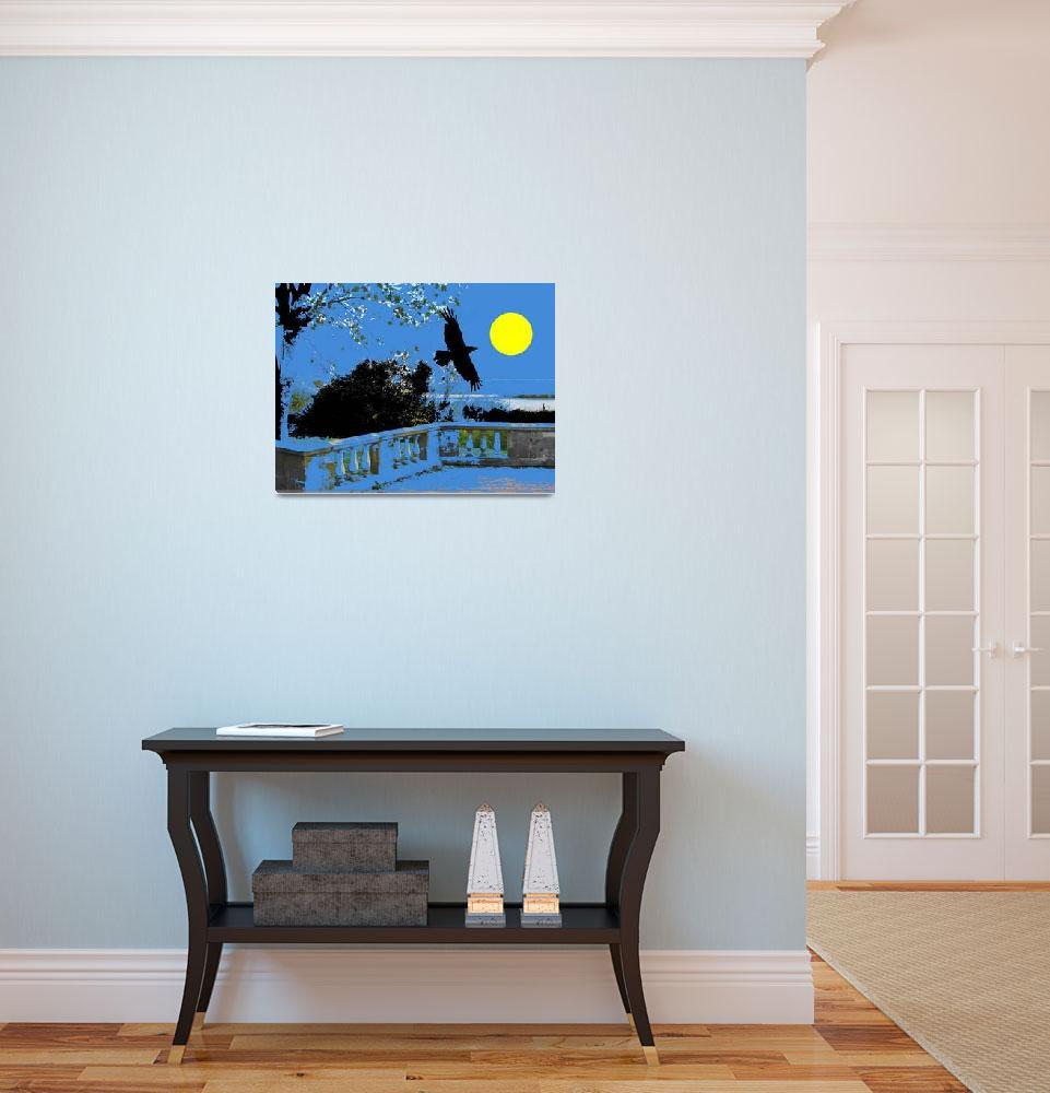 """""""hawk moon""""  (2014) by BruceMcGatt"""