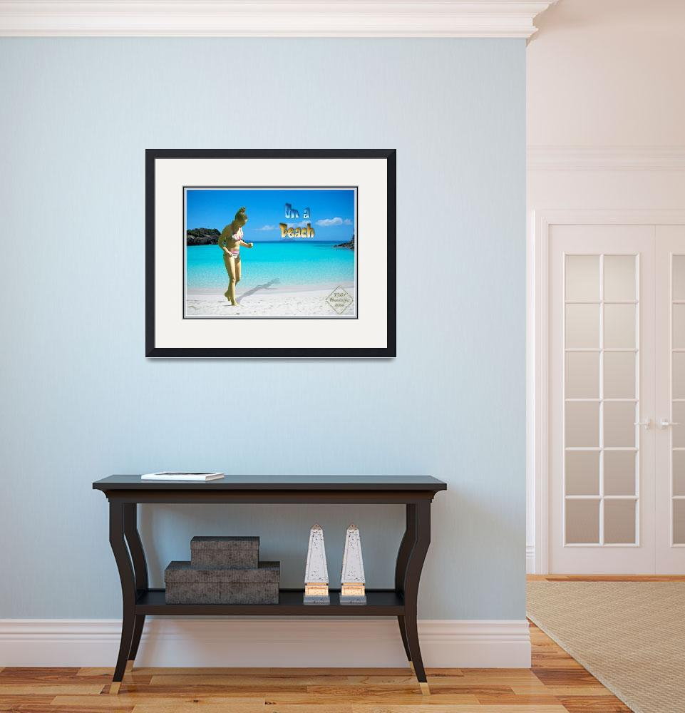 """""""On a Beach""""  (2008) by TMNimagestyles"""