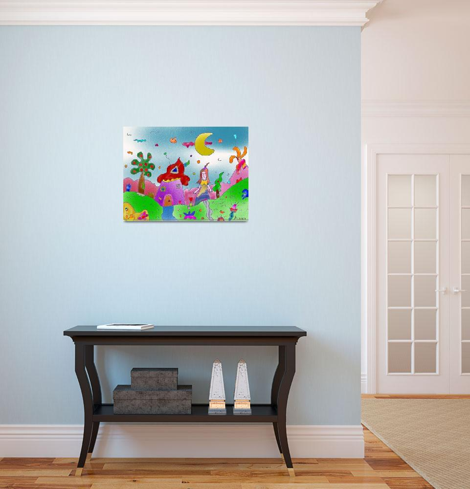 """""Princess forest""-Children Colorful Fantasy Storie""  by Arran"