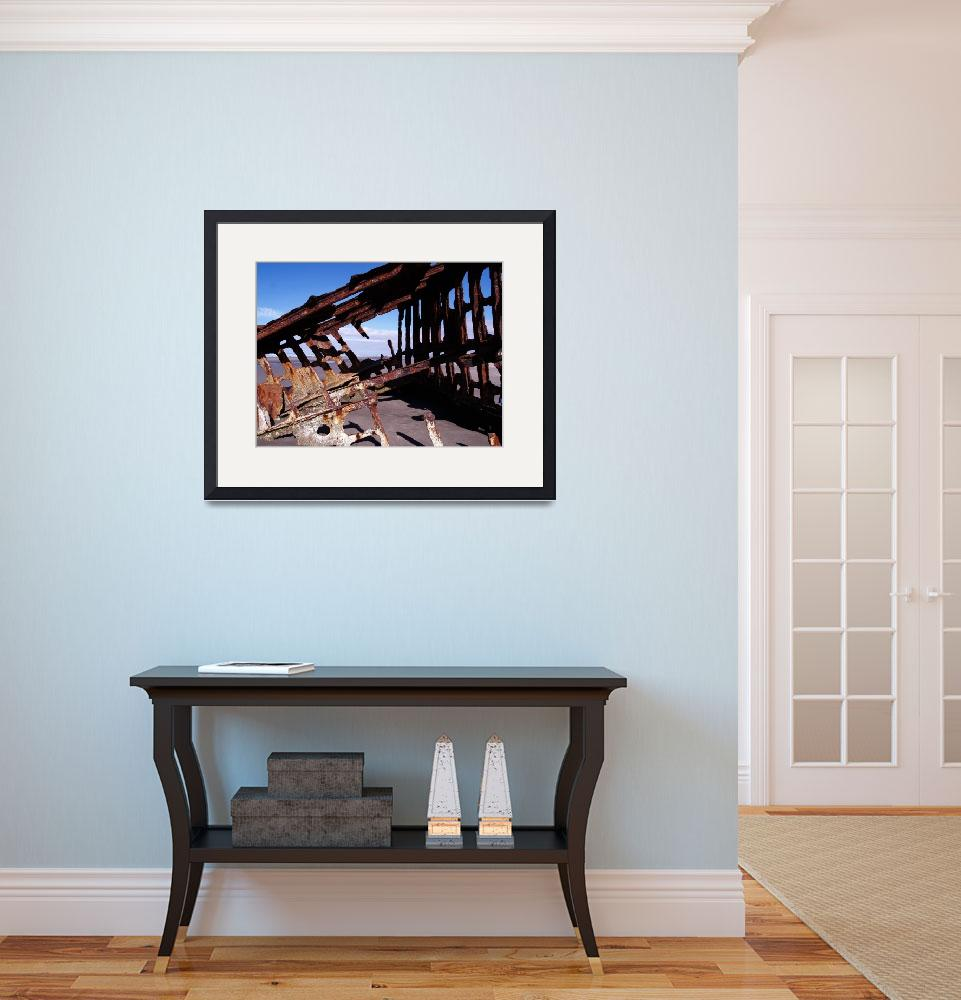 """""""Shipwreck of the Peter Iredale 076&quot  by Wintercreeks"""