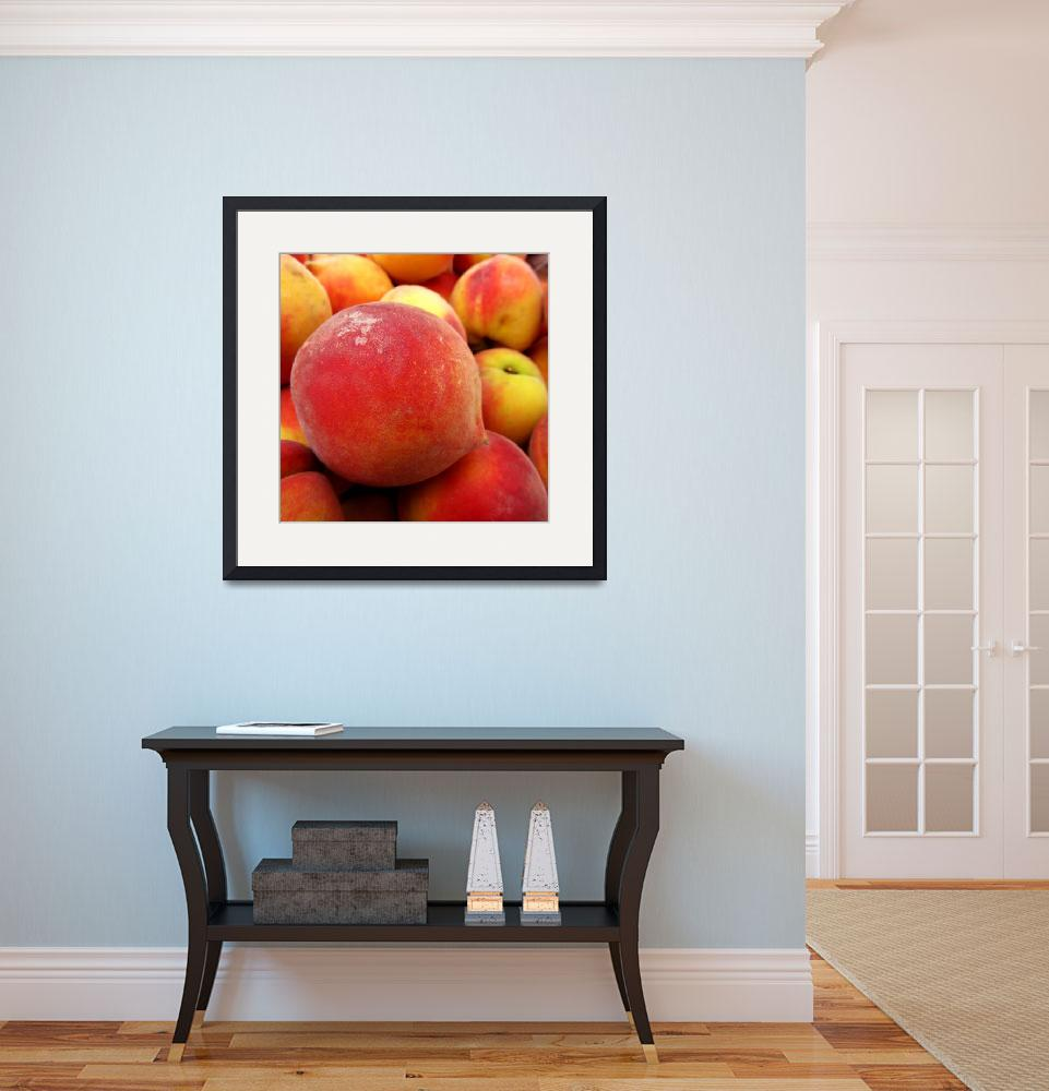 """""""Peaches&quot  (2011) by TieDyeKat"""