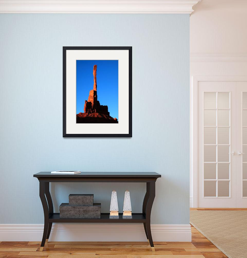 """""""Totem Pole, Monument Valley&quot  (2013) by RoupenBaker"""