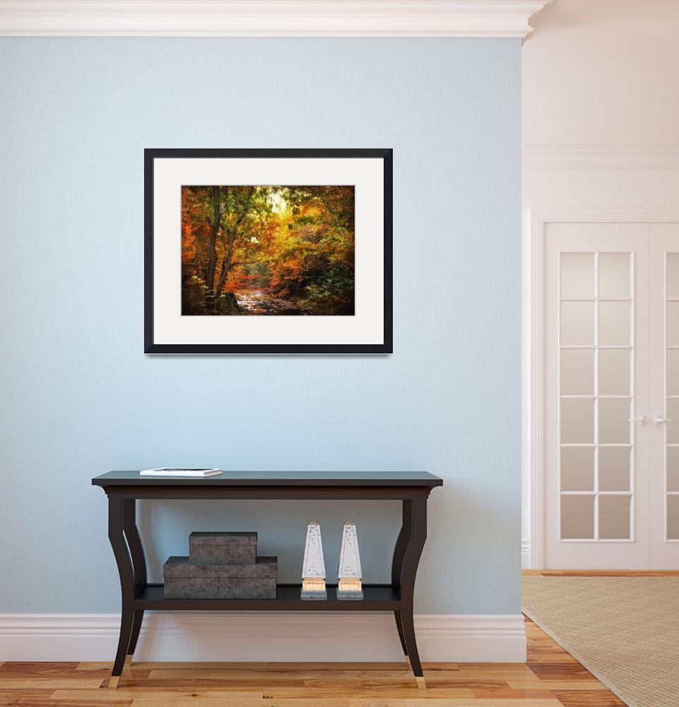 """""""Autumn River View&quot  (2010) by JessicaJenney"""