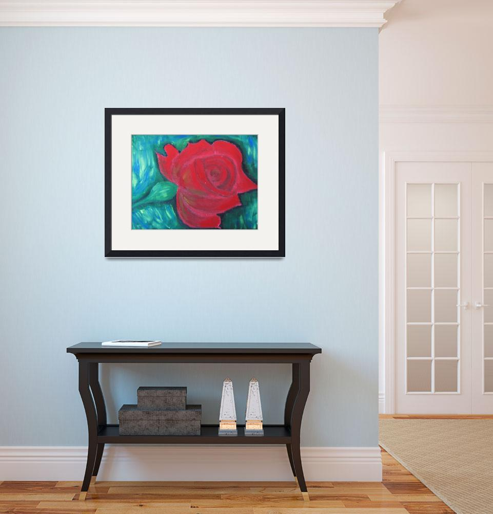"""""""rose&quot  (2009) by shweta"""