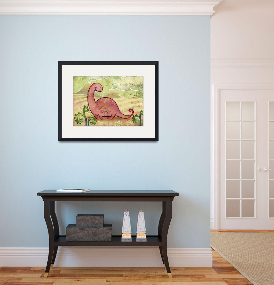 """""""Apatosaurus&quot  (2008) by atelier302"""