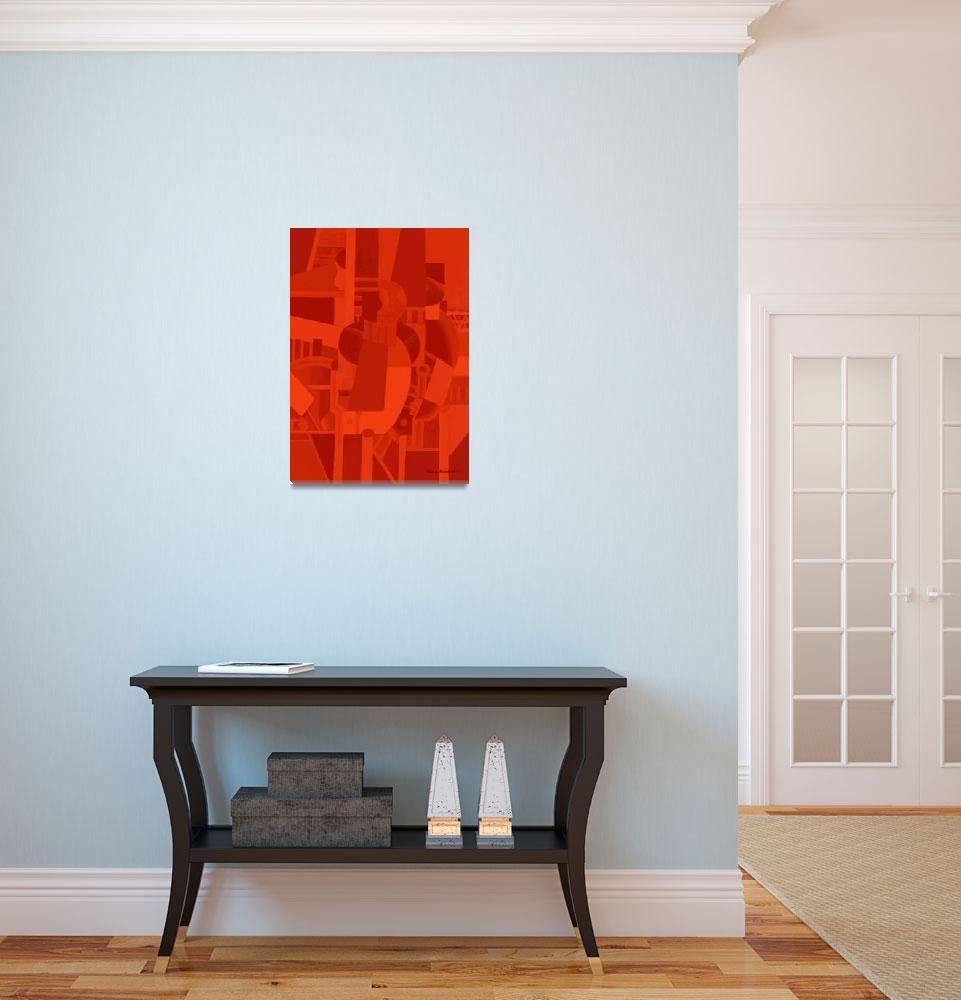 """""""Red&quot  (2011) by artstoreroom"""