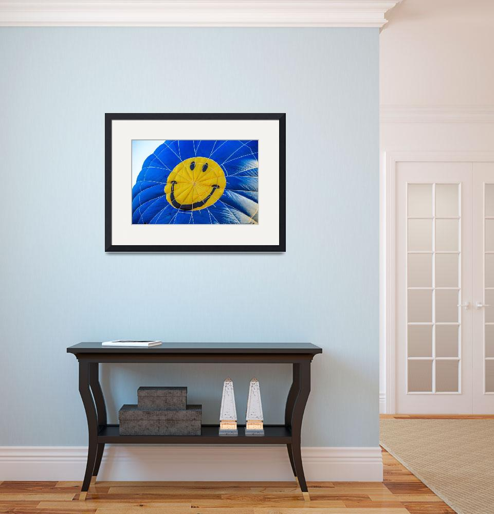 """""""Smiley Balloon&quot  (2014) by haybales"""