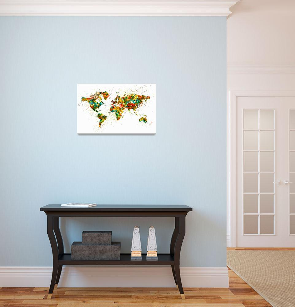 """""""Map of the World&quot  (2015) by MarianVoicu"""