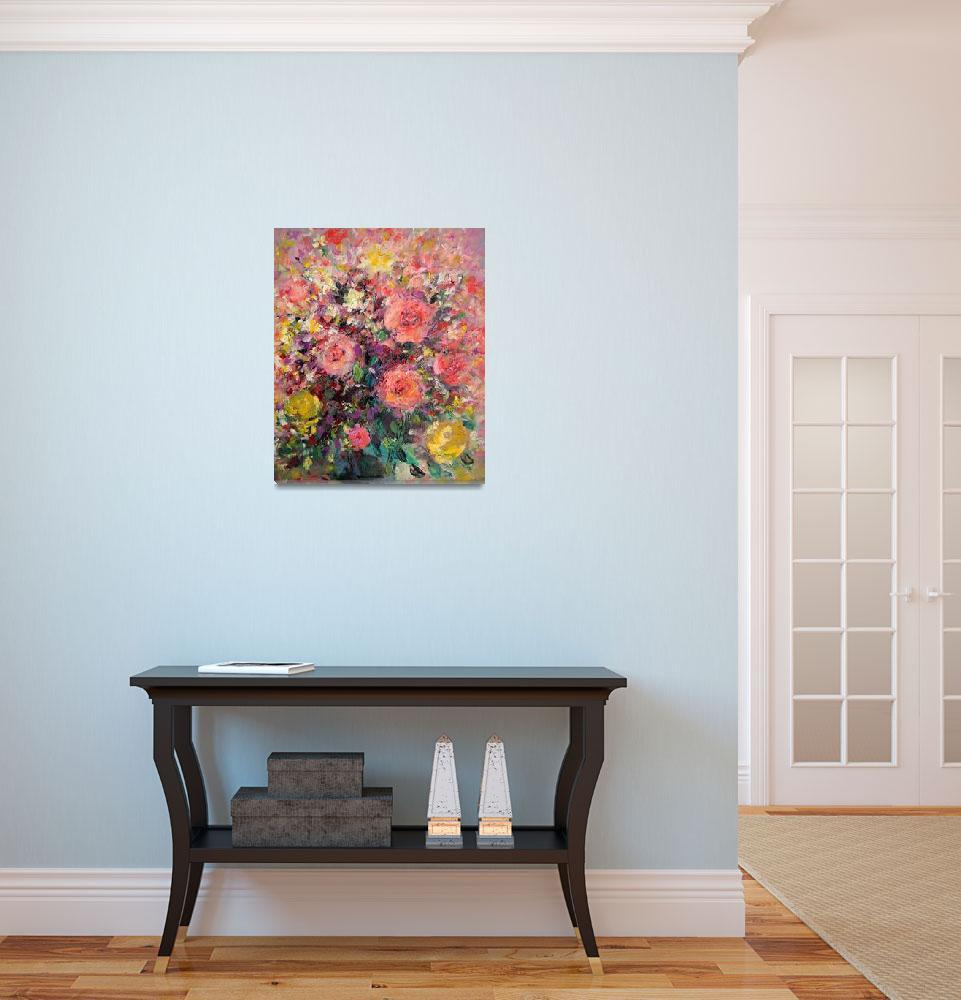 """""""Floral still life""""  (2010) by zampedroni"""