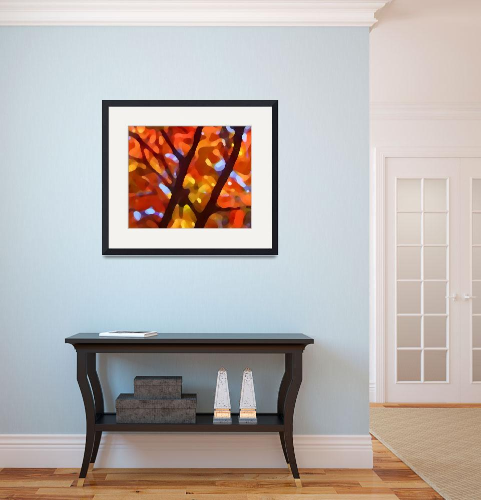 """Fall Tree Light&quot  (2009) by AmyVangsgard"