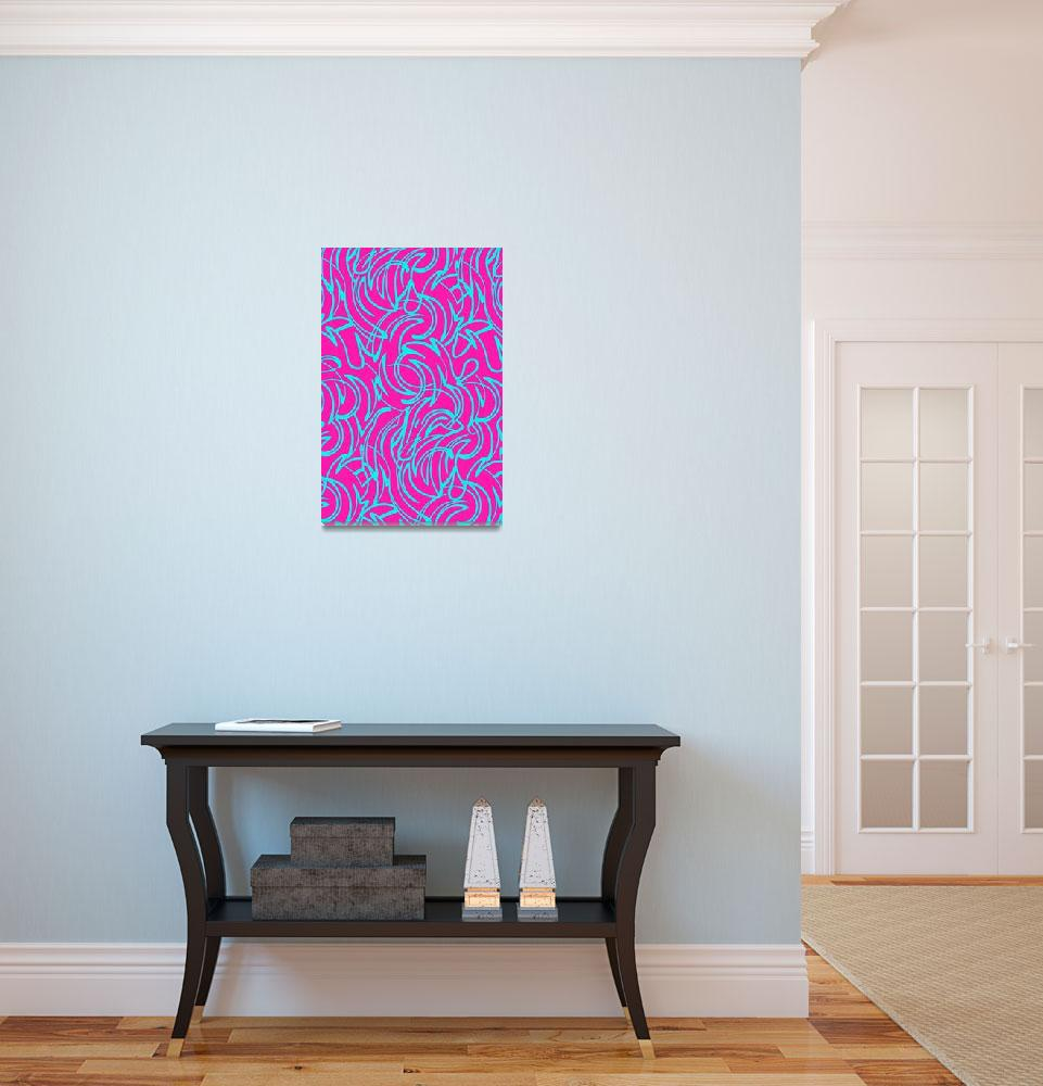 """Swirls (digital) by Louisa Knight&quot  by fineartmasters"