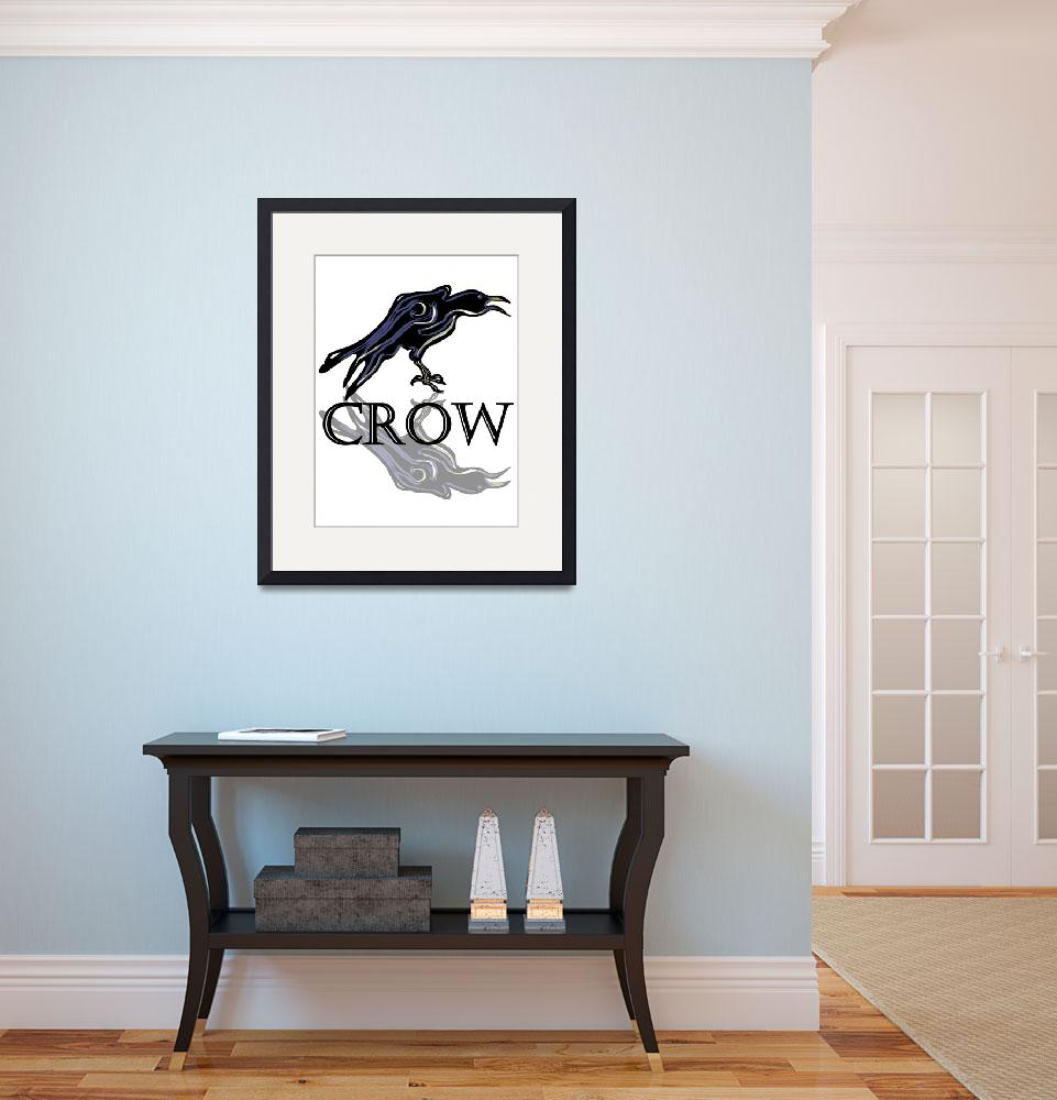 """Crow&quot  by maryostudio"