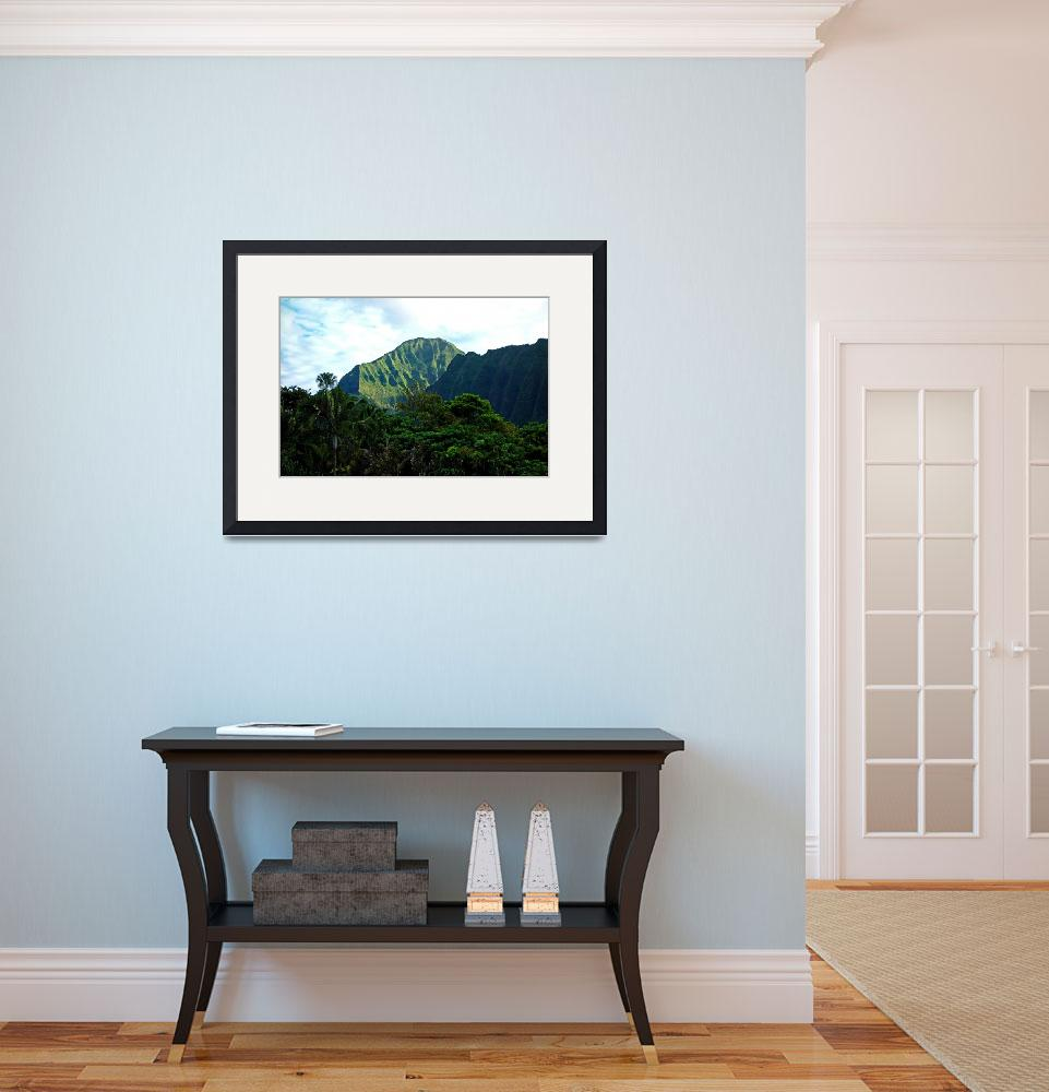 """""""Pali Lookout View 3&quot  (2013) by robertmeyerslussier"""