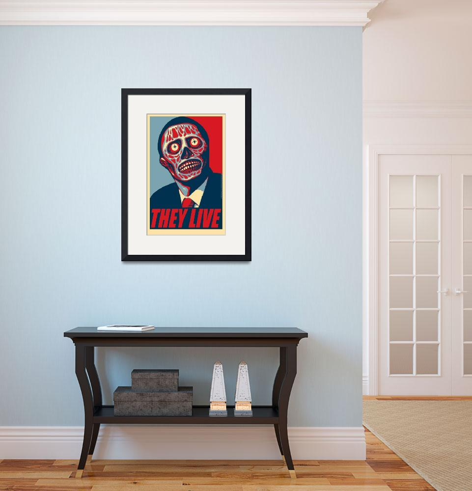 """""""They Live (prez)&quot  (2010) by swellzombie"""