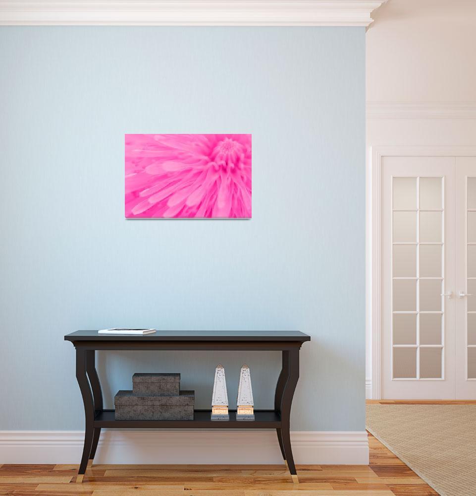 """Bright Pink Wall Art&quot  (2011) by NatalieKinnear"