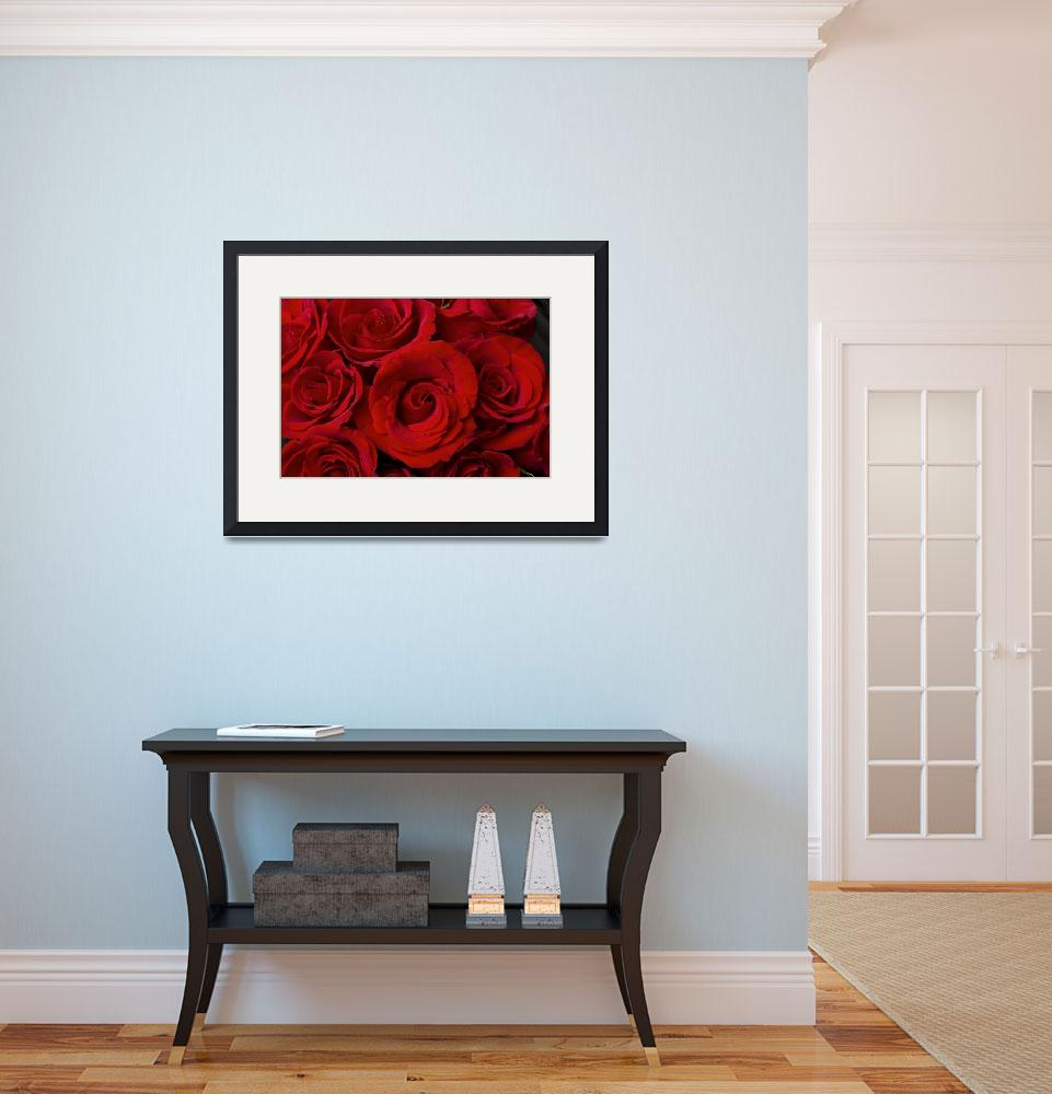 """""""Red Rose Bouquet&quot  (2011) by lightningman"""