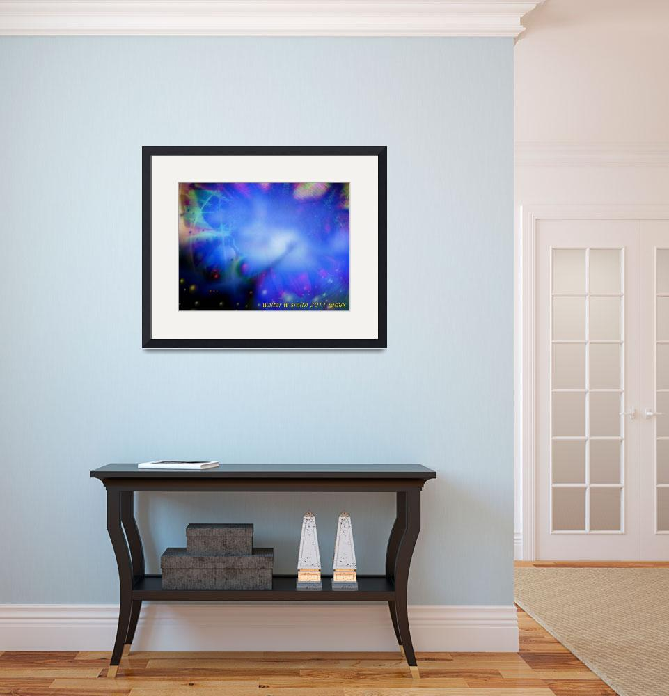 """""""In The Lightness Of Being Blue""""  (2011) by newdigitalscapes"""