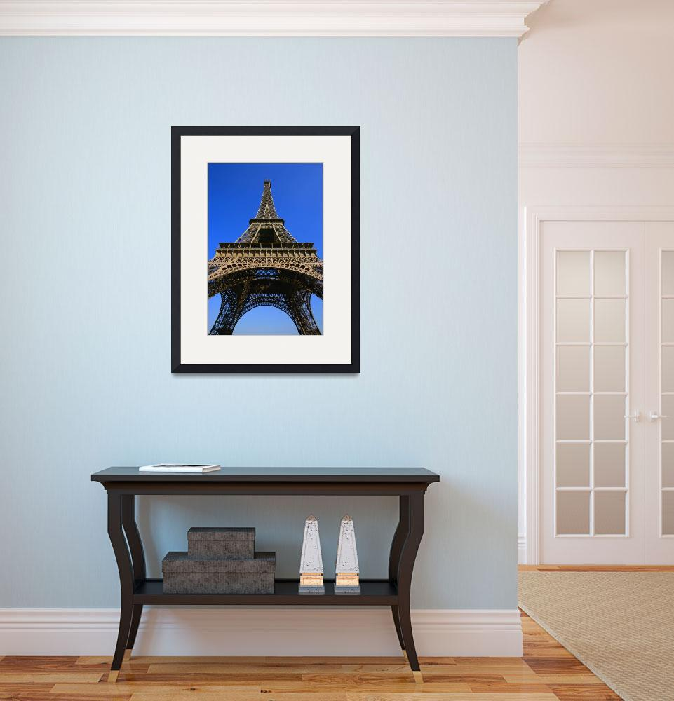 """""""Low Angle View Of Eiffel Tower&quot  by DesignPics"""