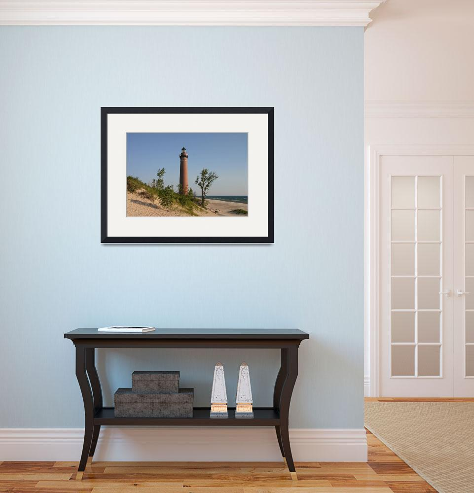 """Little Sable Point""  (2007) by luckhurstphotography"