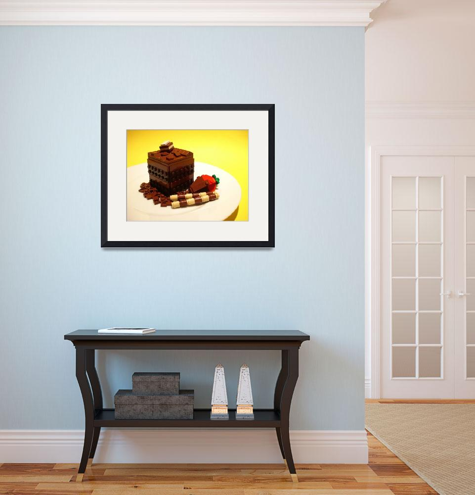 """""""Chocolate Cake&quot  by aeylar"""