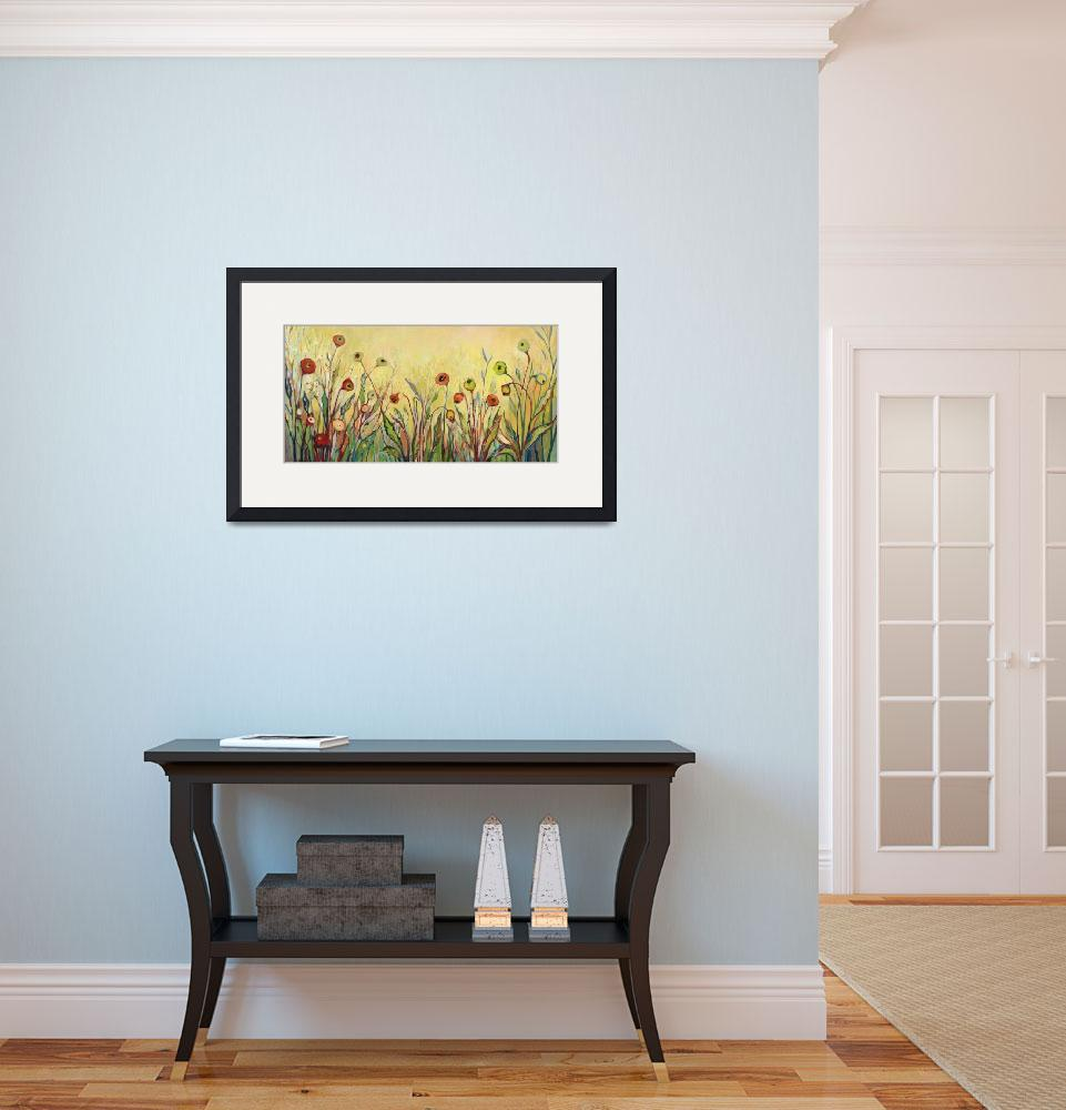 """""""Summer Poppies&quot  (2012) by JENLO"""