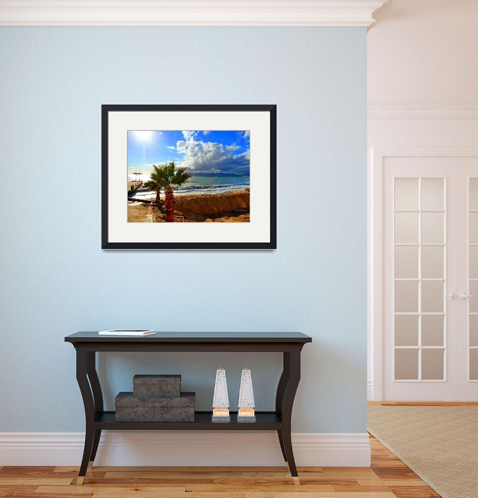"""B1 CANNES CARLTON BEACH&quot  (2011) by Marianiart"
