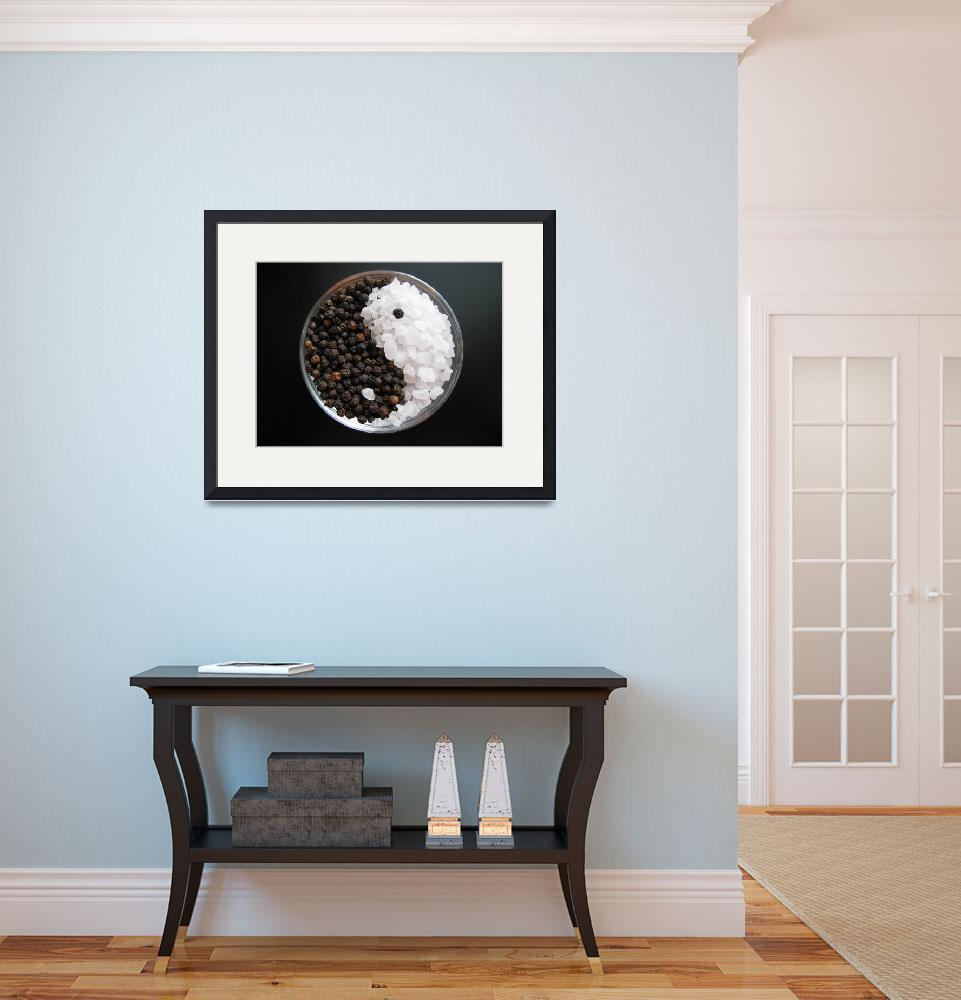 """""""S&P Yin and Yang&quot  (2010) by LindieRacz"""