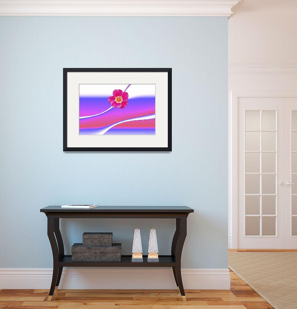 """""""Abstract flower collection (02 of 16)&quot  (2012) by WallArtDeco"""