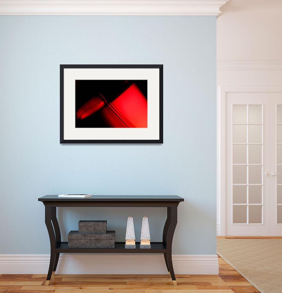 """""""Abstract Red and Black&quot  by SanjayNayar"""