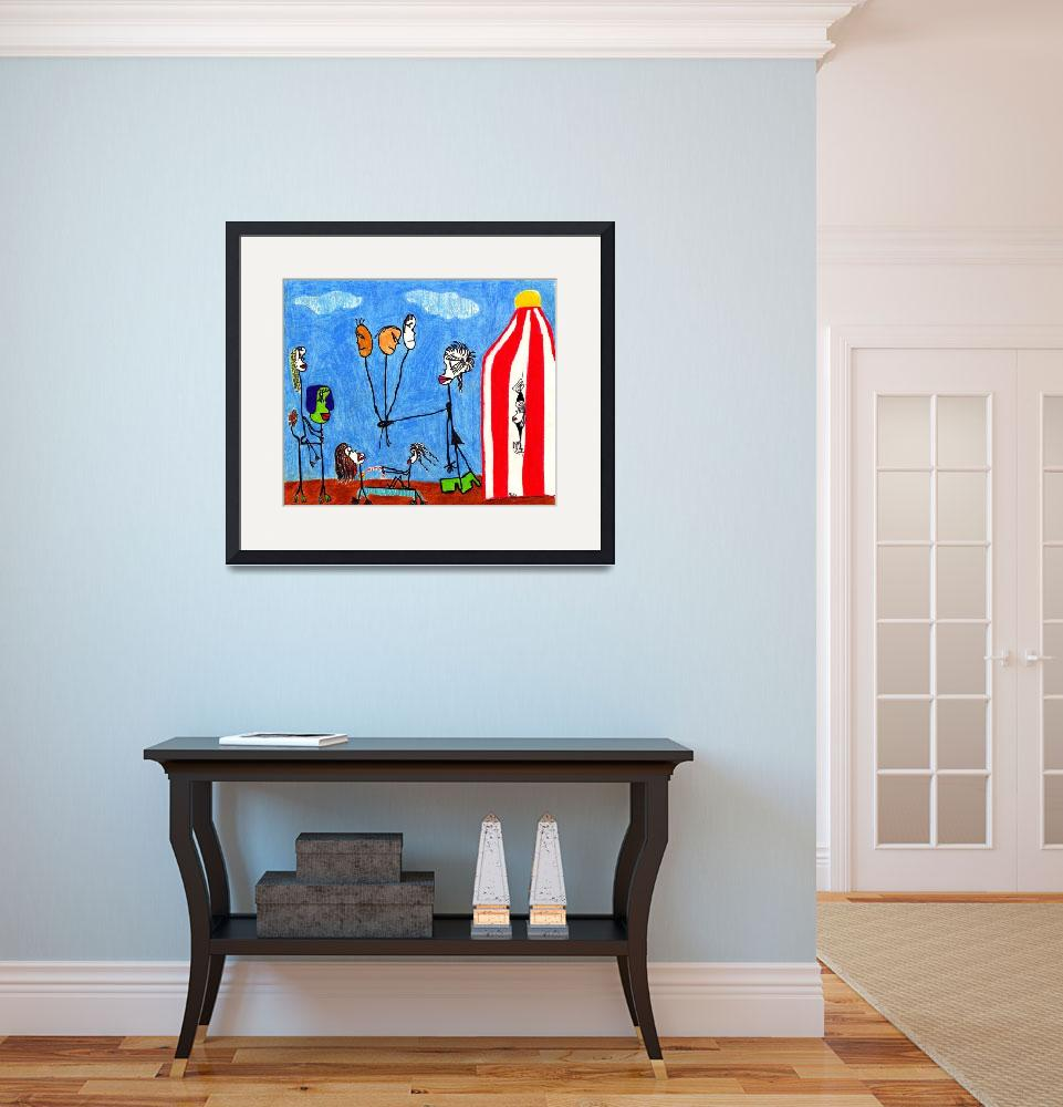 """""""The Circus&quot  (2011) by biriart"""