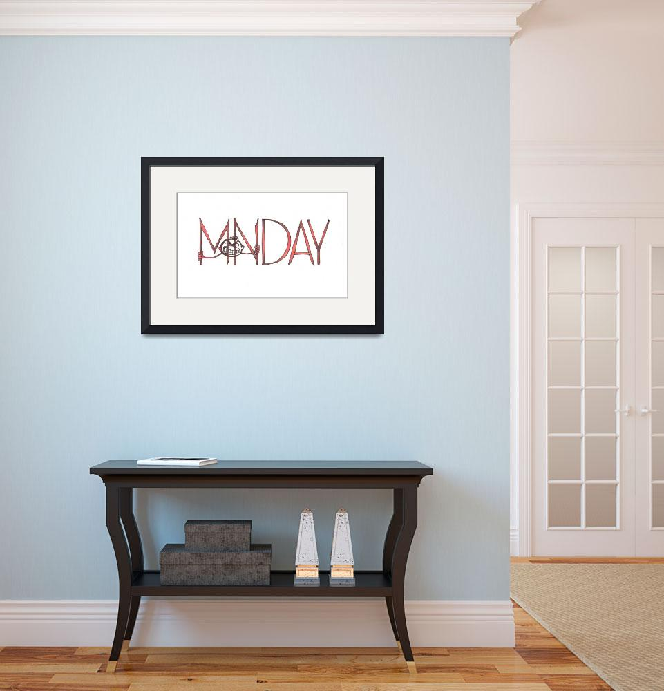 """""""Monday&quot  (2009) by WerewolfV"""